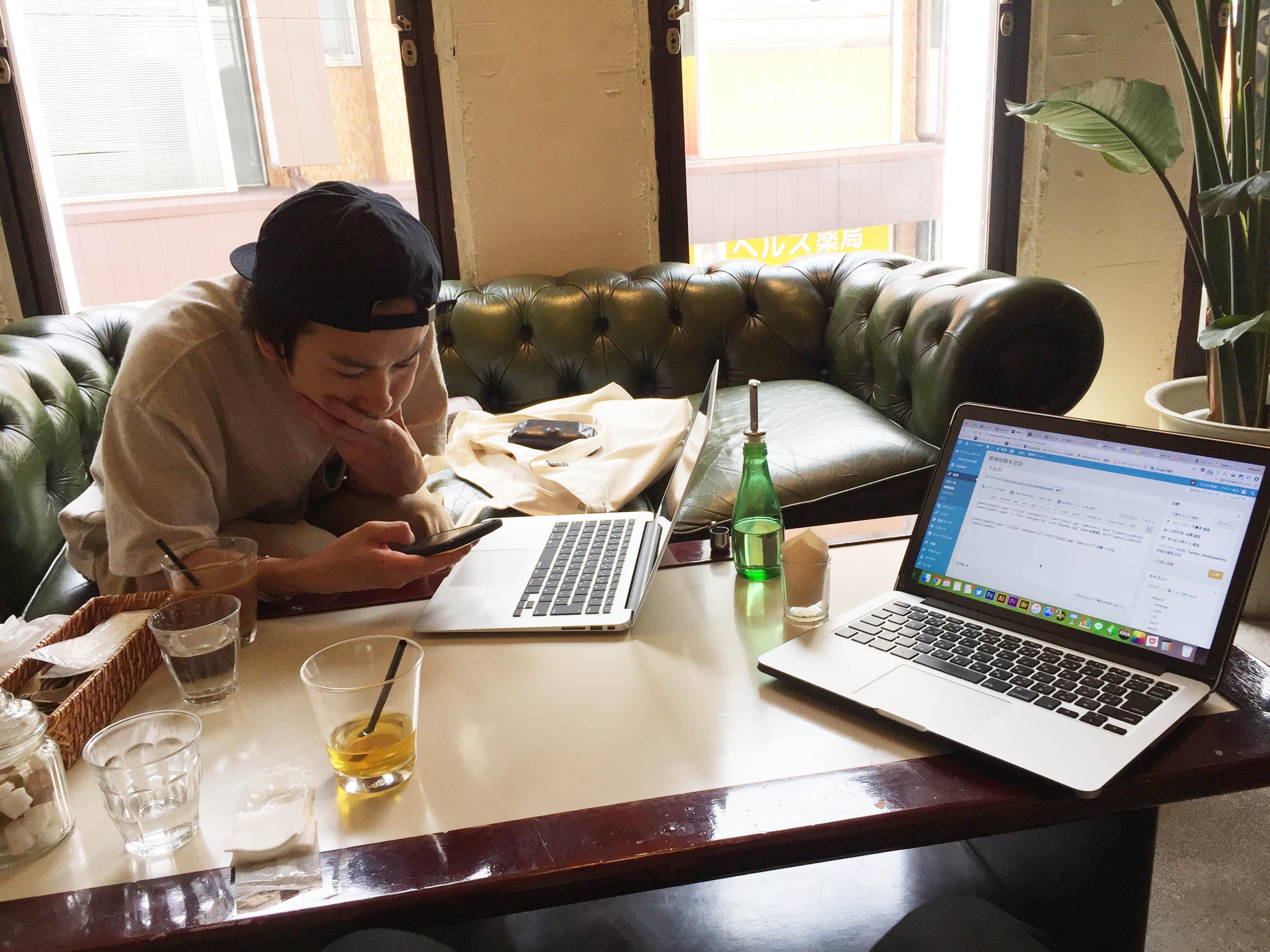 篠原ジョーさんとパソコン相談