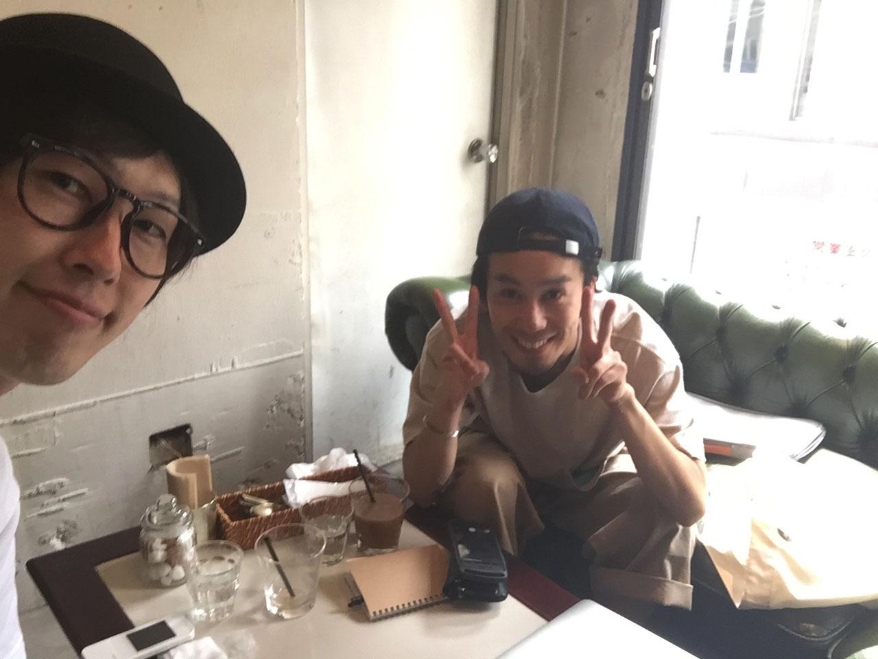 イイノと篠原ジョーさん
