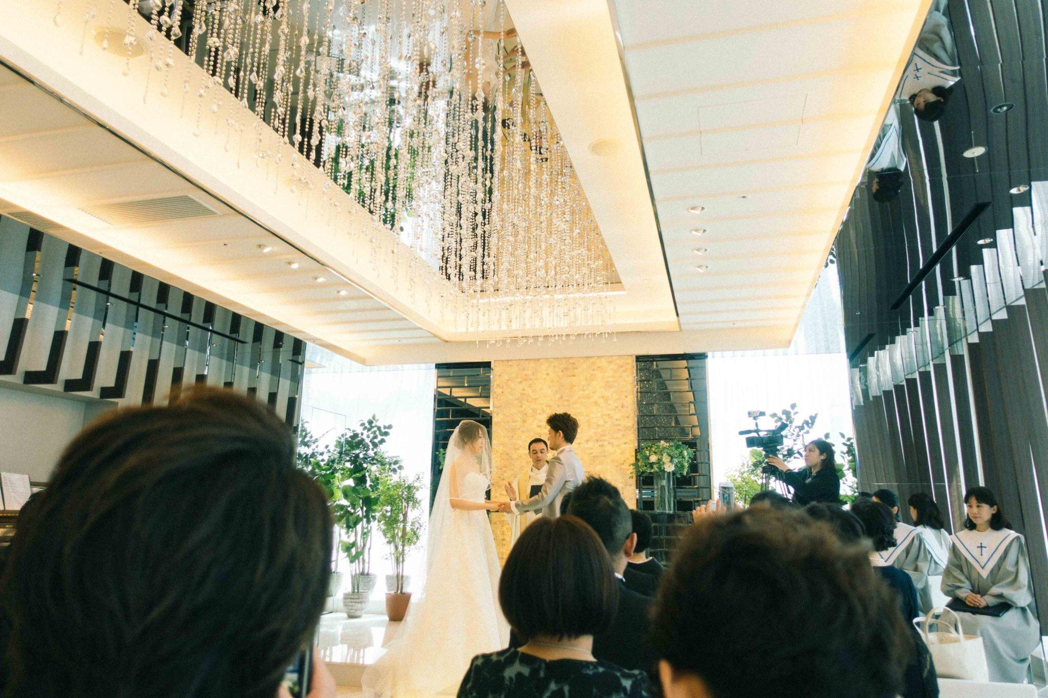 結婚式の挙式