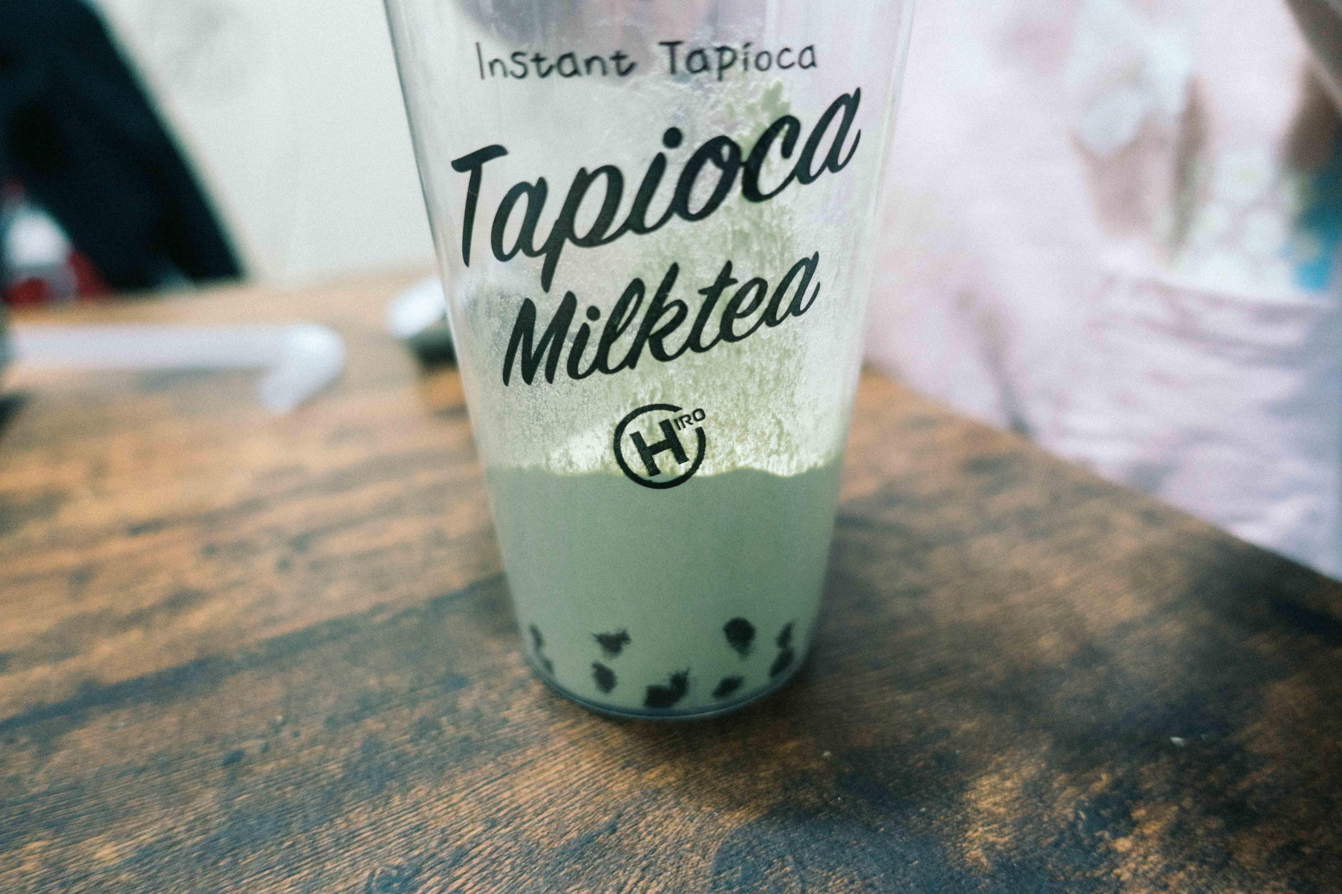 インスタントタピオカ抹茶