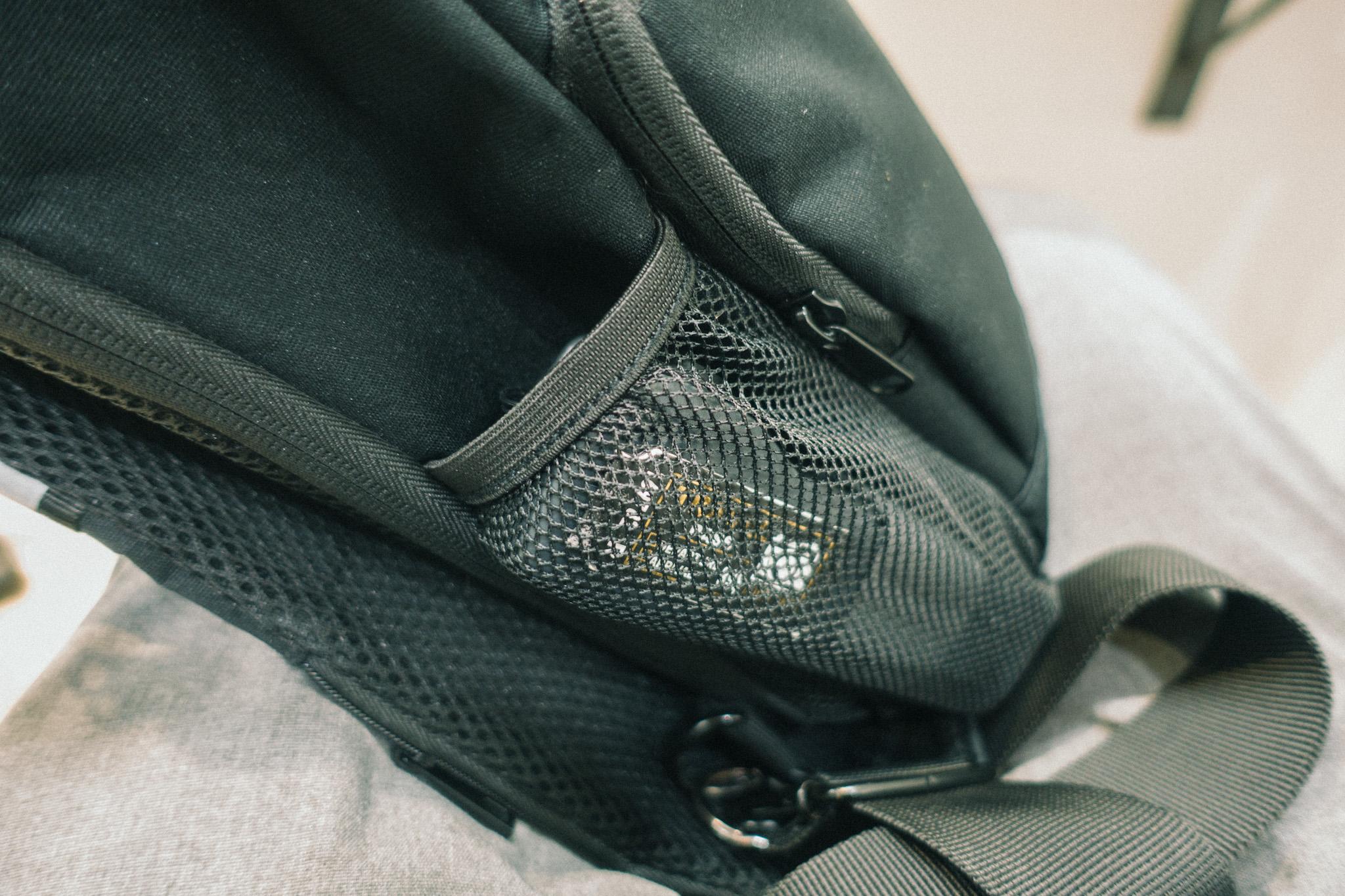 ボディバッグにオズモポケット