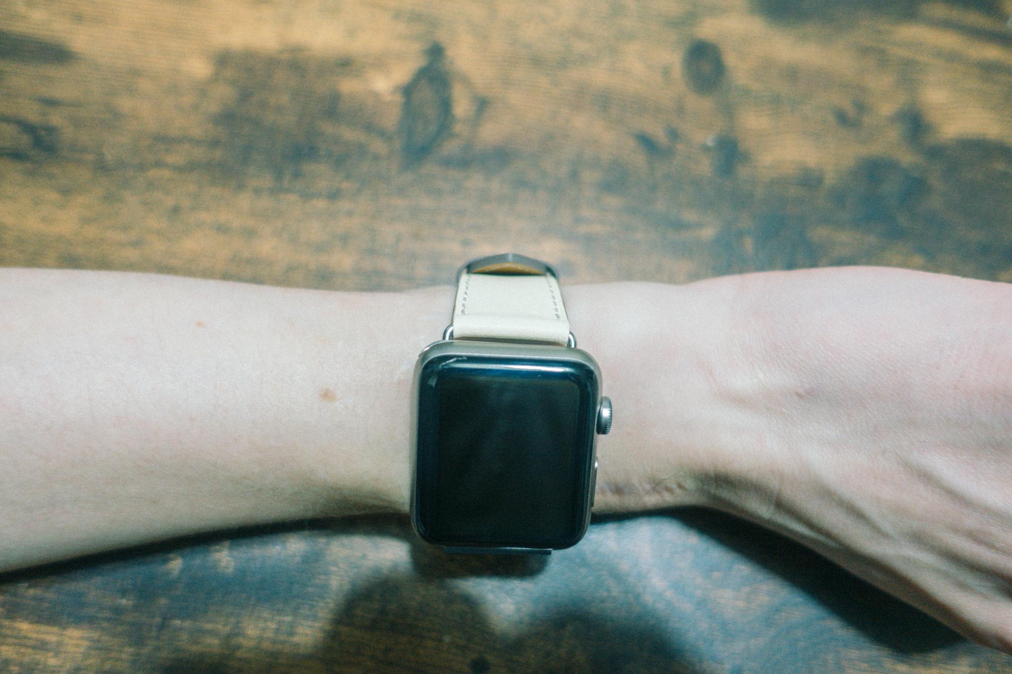 Apple Watchエルメス風バンド