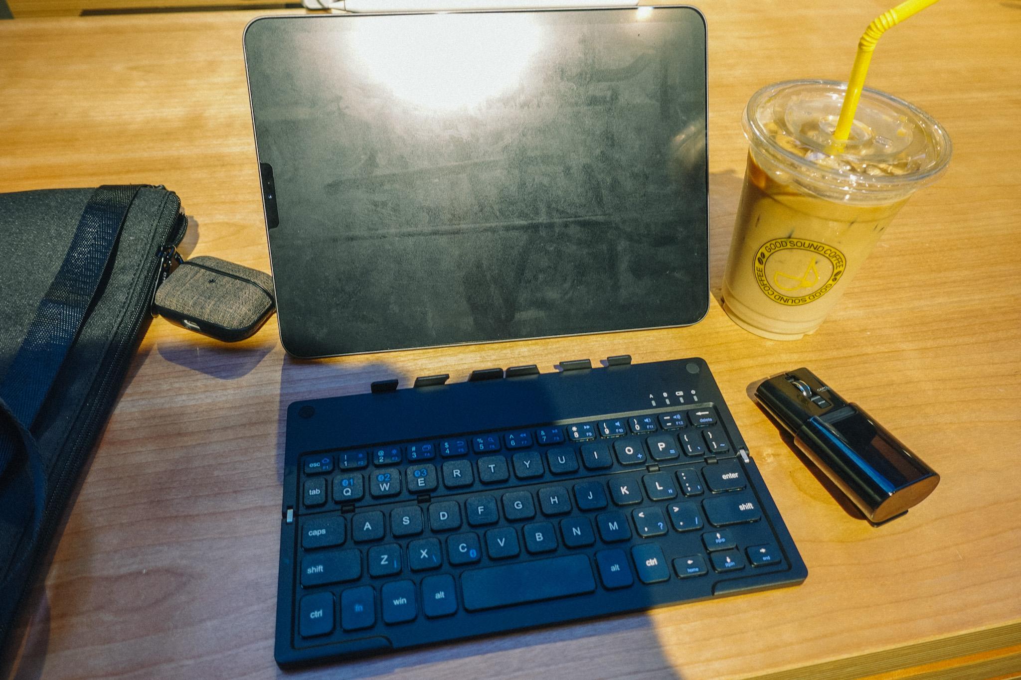 カフェでiPad Proで仕事