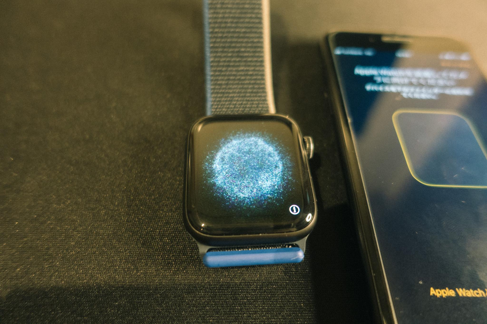 Apple WatchSEペアリング