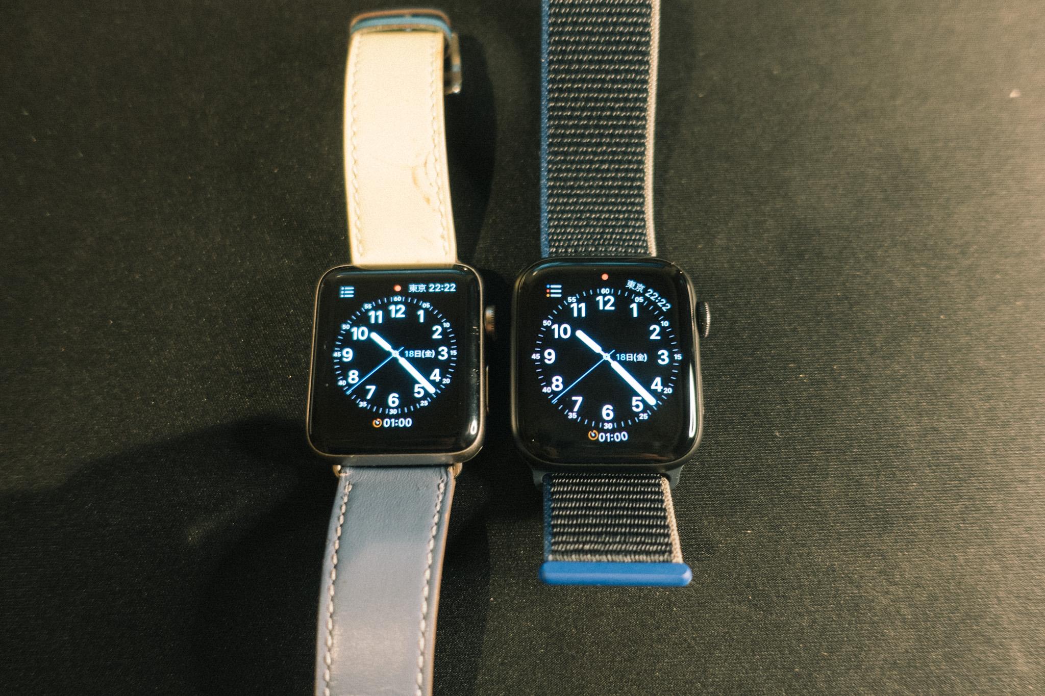 Apple WatchSEとシリーズ2比較