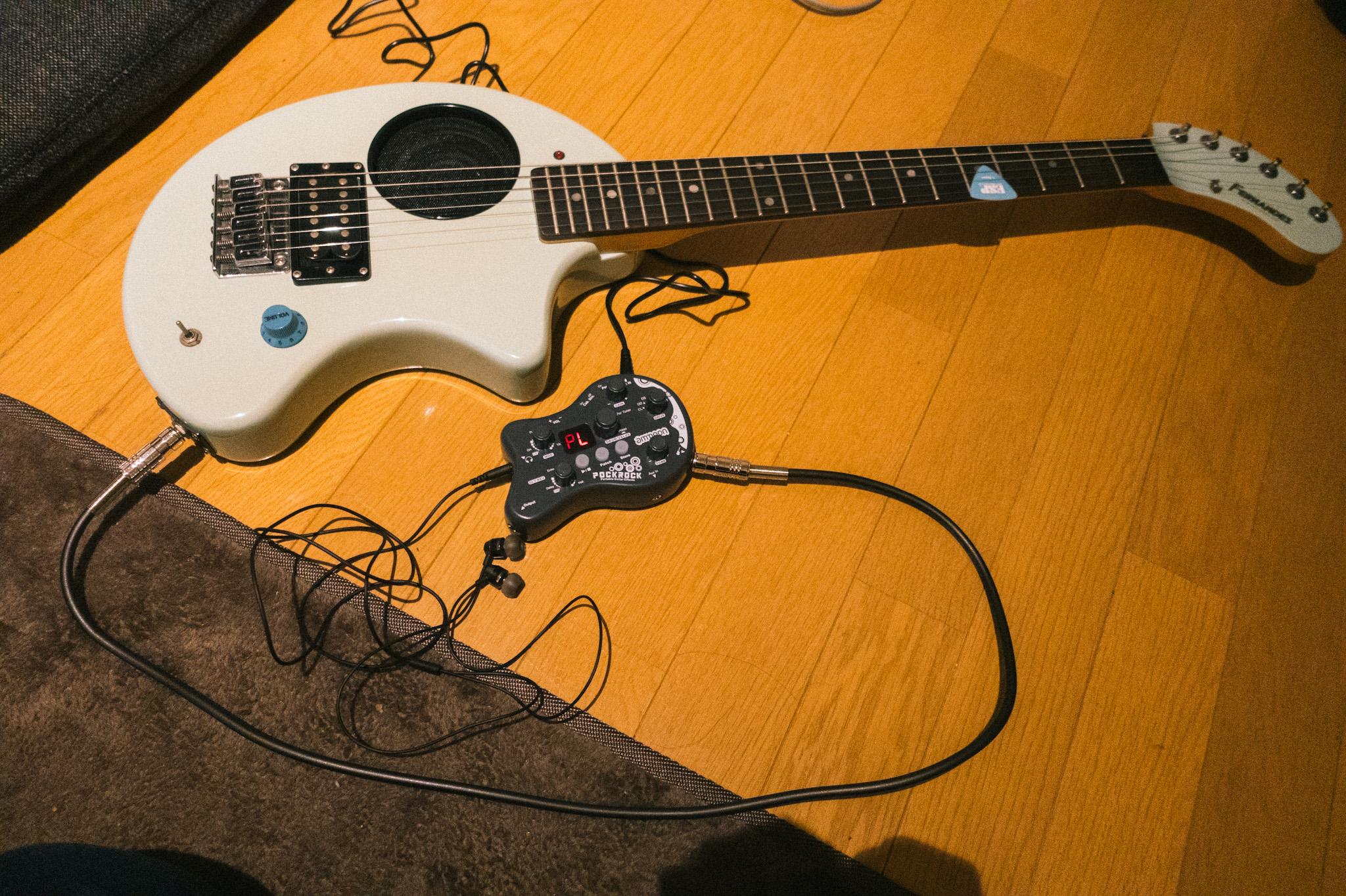 コンパクトギターシステム