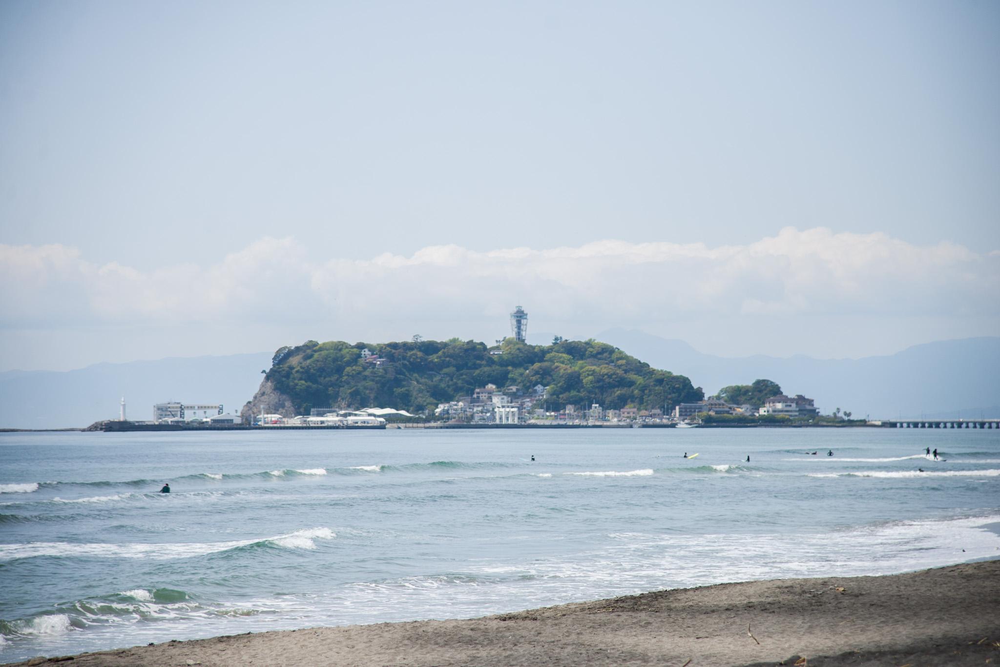 海と江ノ島