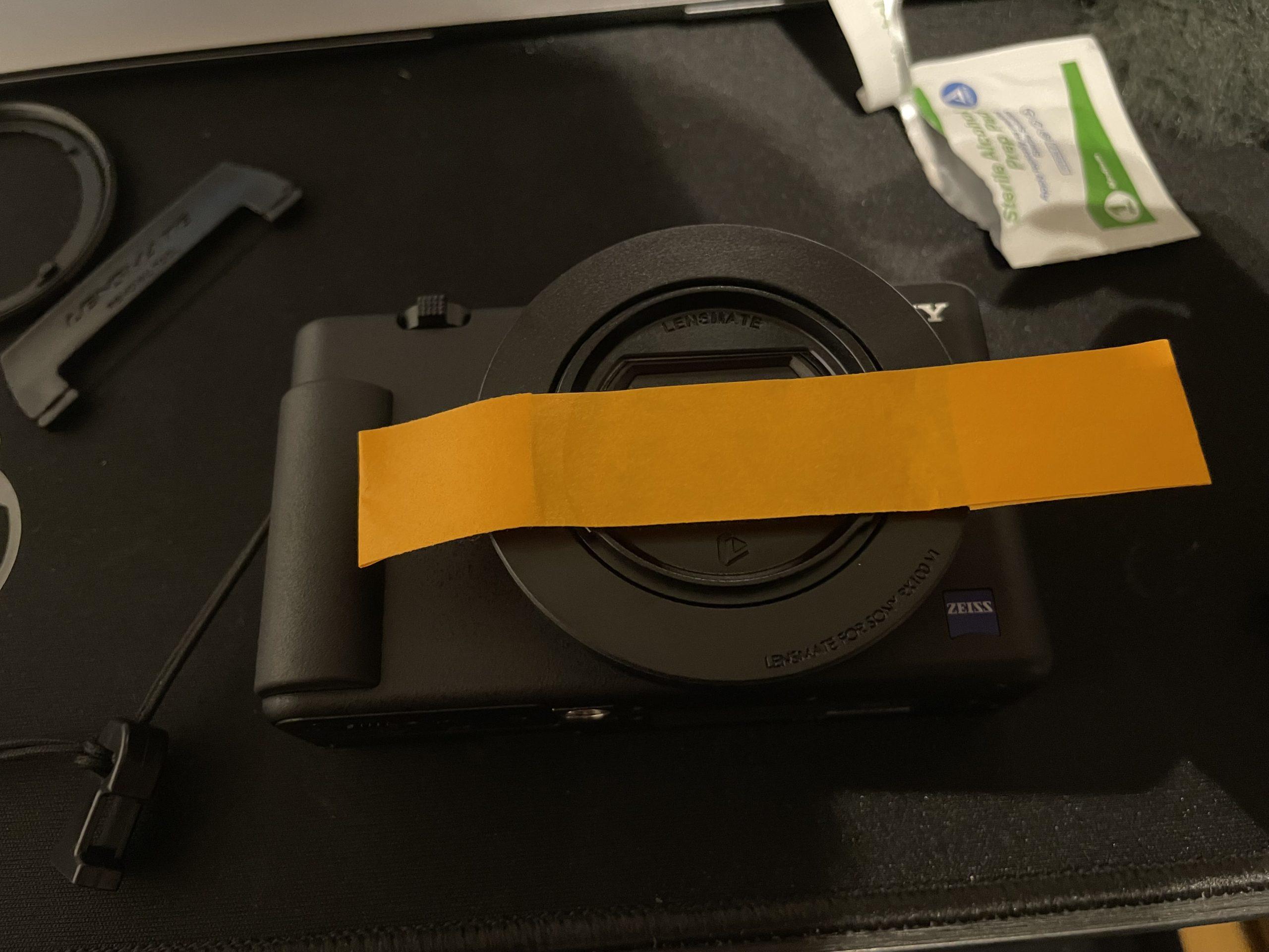 LENSMATE レンズメイト SONY ZV-1専用クイックチェンジフィルターアダプターキット52mmガイド