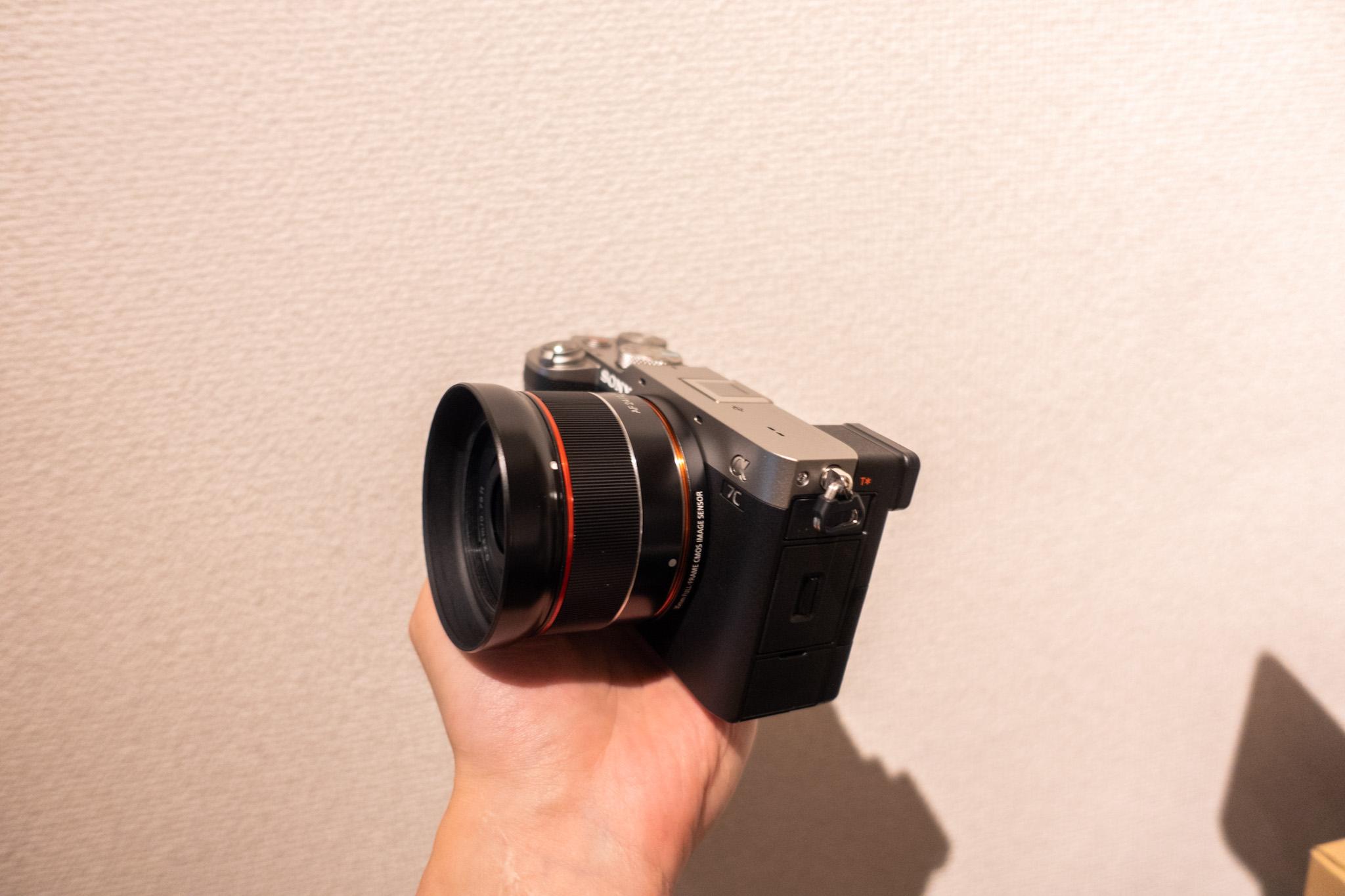 α7CとSAMYANG AF 24mmF2.8 FE